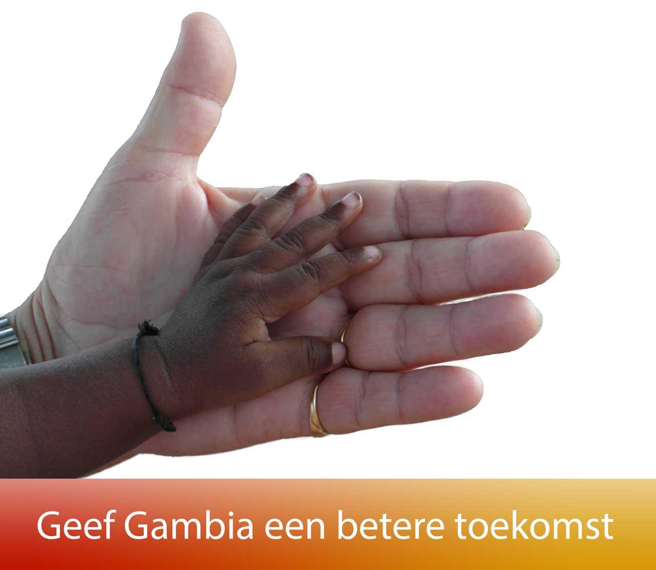 Logo Geef voor Gambia